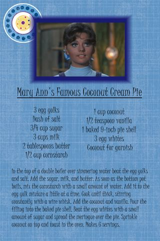 Coconut Cream Pie Recipe - Page 001