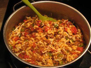 C beef pasta