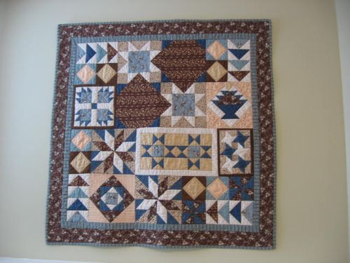 How To Hang A Quilt On The Wall over the kitchen counter: angie's place for cooking and crafts