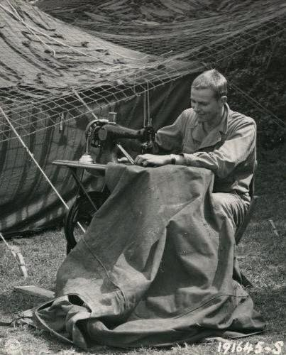 Wartime sewing